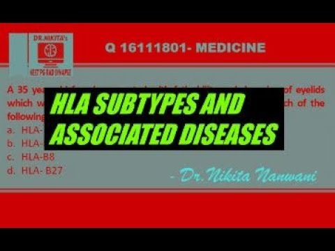 HLA Subtypes And Associated Diseases- Super Easy Way To Remember