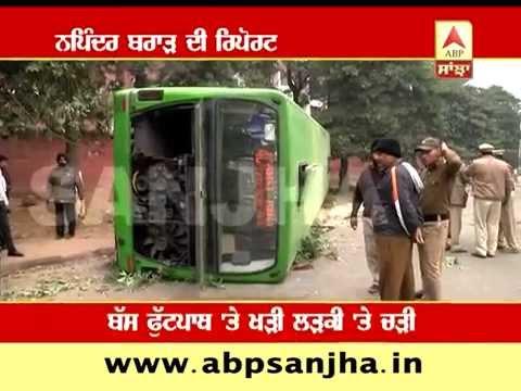 Over speed CTU bus accident, rickshaw puller killed