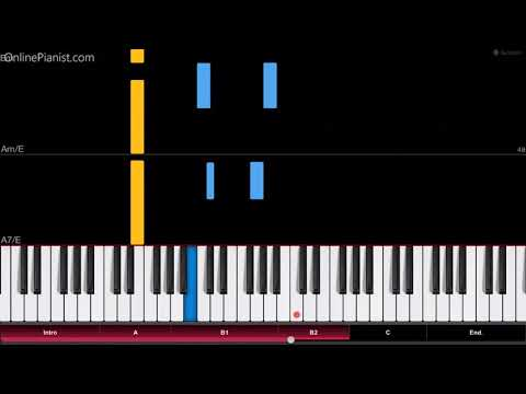 Halo Theme - Easy Piano Tutorial