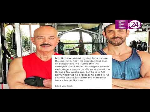 Bollywood Reporter | Rakesh Roshan suffering from cancer, Hrithik wrote an Emotional post Mp3