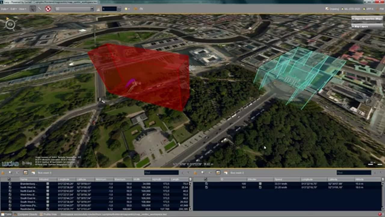 Automatic Drone Detection System using Luciad Technology