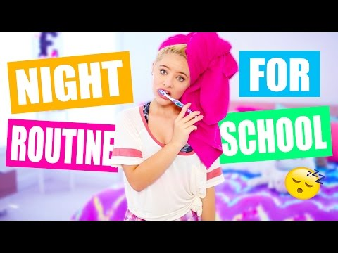 Night Routine For School!