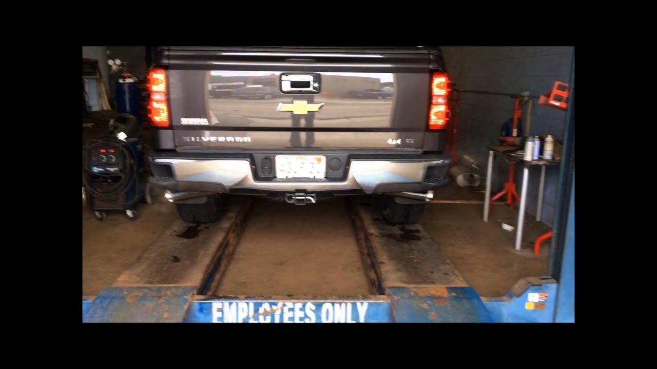 2014 Chevy Silverado Dual Exhaust Conversion Youtube