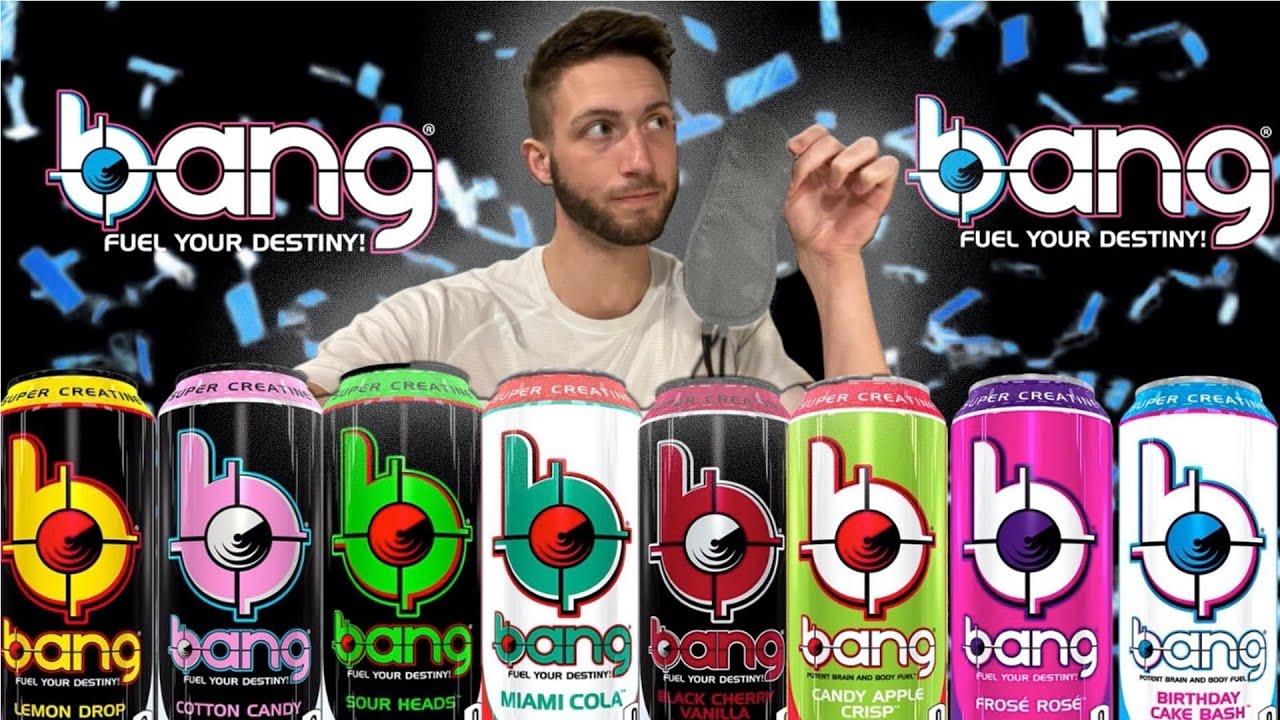 Drinks Bang Energy Once* | Blindfolded Taste Test Of Every Flavor - YouTube