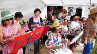 The Castlefields Ukulele Orchestra Live 01 - Reach (CUO live at Castlefields Pleasure Day 5/08/2012)