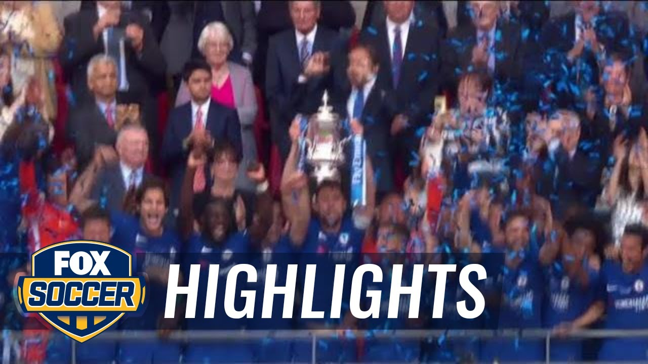 Download Chelsea and Conte celebrates FA Cup win | 2017-18 FA Cup Final Highlights