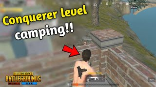 He is world's biggest Camper of Pubg | Conquerer level camping Must watch | Pubg mobile lite
