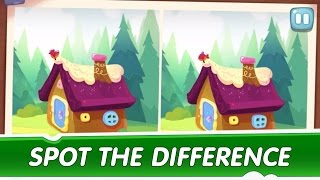 Spot the Difference Ep. 1 - Om Nom Stories: Mysterious House