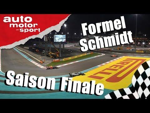 Saisonfinale -  Formel Schmidt zum GP Abu Dhabi   auto motor & sport