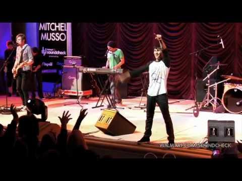 Mitchel Musso  Celebrate Soundcheck