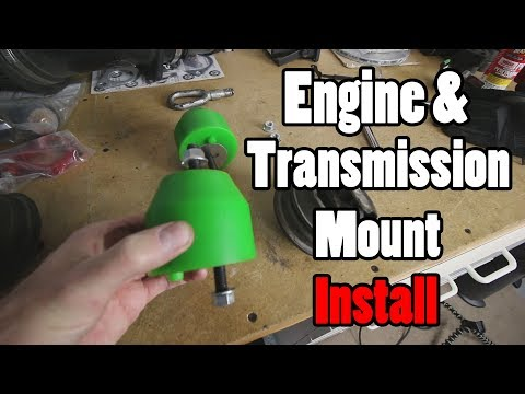 BMW engine mount replacement