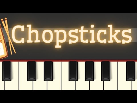 Easy Piano Tutorial: Chopsticks