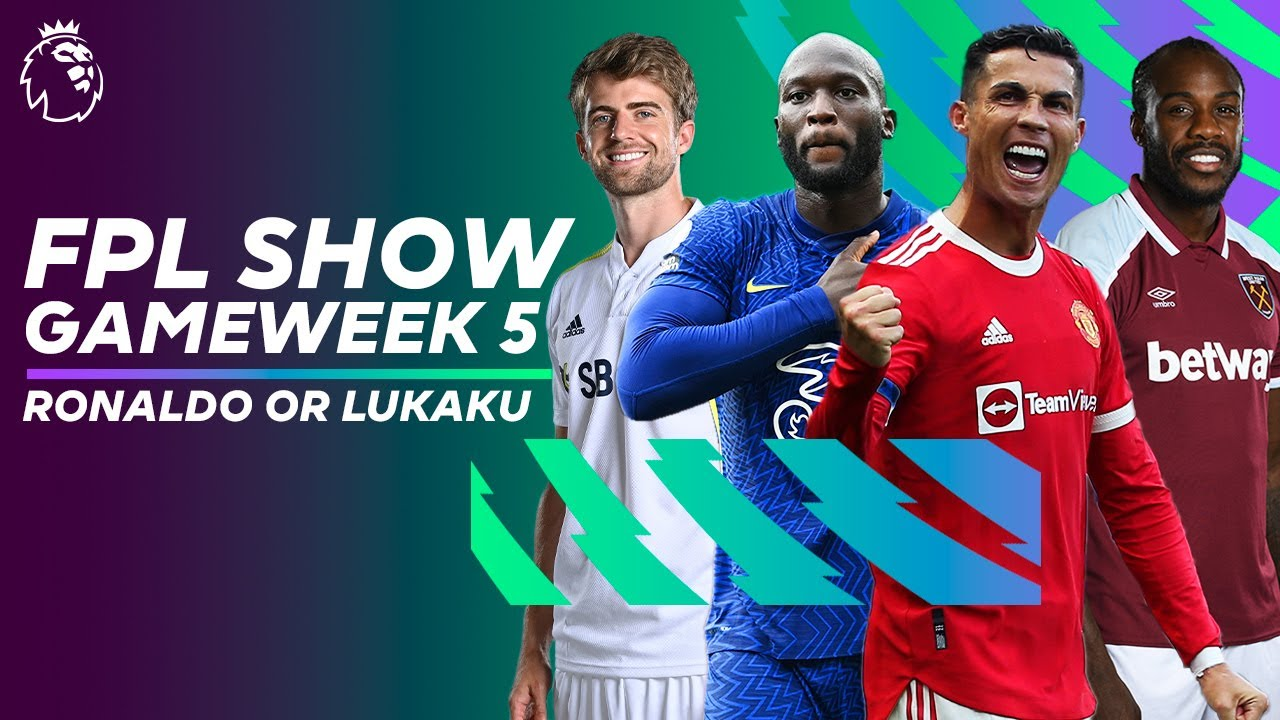 Download Cristiano Ronaldo or Romelu Lukaku 🤔   Who's better for Gameweek 5?   FPL Show