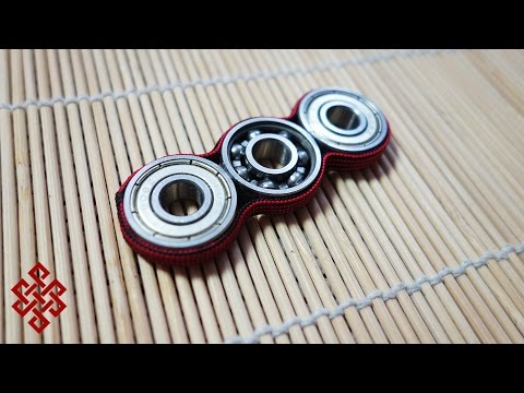 How to Make a Paracord Fidget Spinner Toy Tutorial