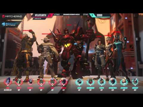 #FLATEARTH vs IDDQD (FINALE) ► GOSUGAMERS OVERWATCH WEEKLY EUROPE #7 [FR] - 4/4