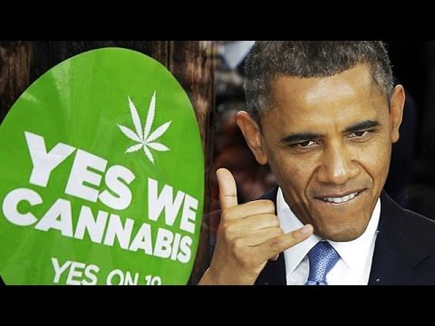 "Days Before Leaving Office, Obama Says Marijuana Should Be Legal ""Like Cigarettes or Alcohol"""