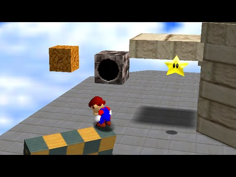 SM64 - To the Top of the Fortress - 0x A Presses