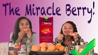 Miracle Berry Taste Test!!