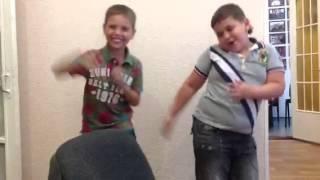 Детский клип PSY Gangnam Style Ренат и Ваня Луганск