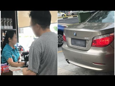 Caltex Singapore investigating incident involving Tampines petrol kiosk attendant and BMW driver ...