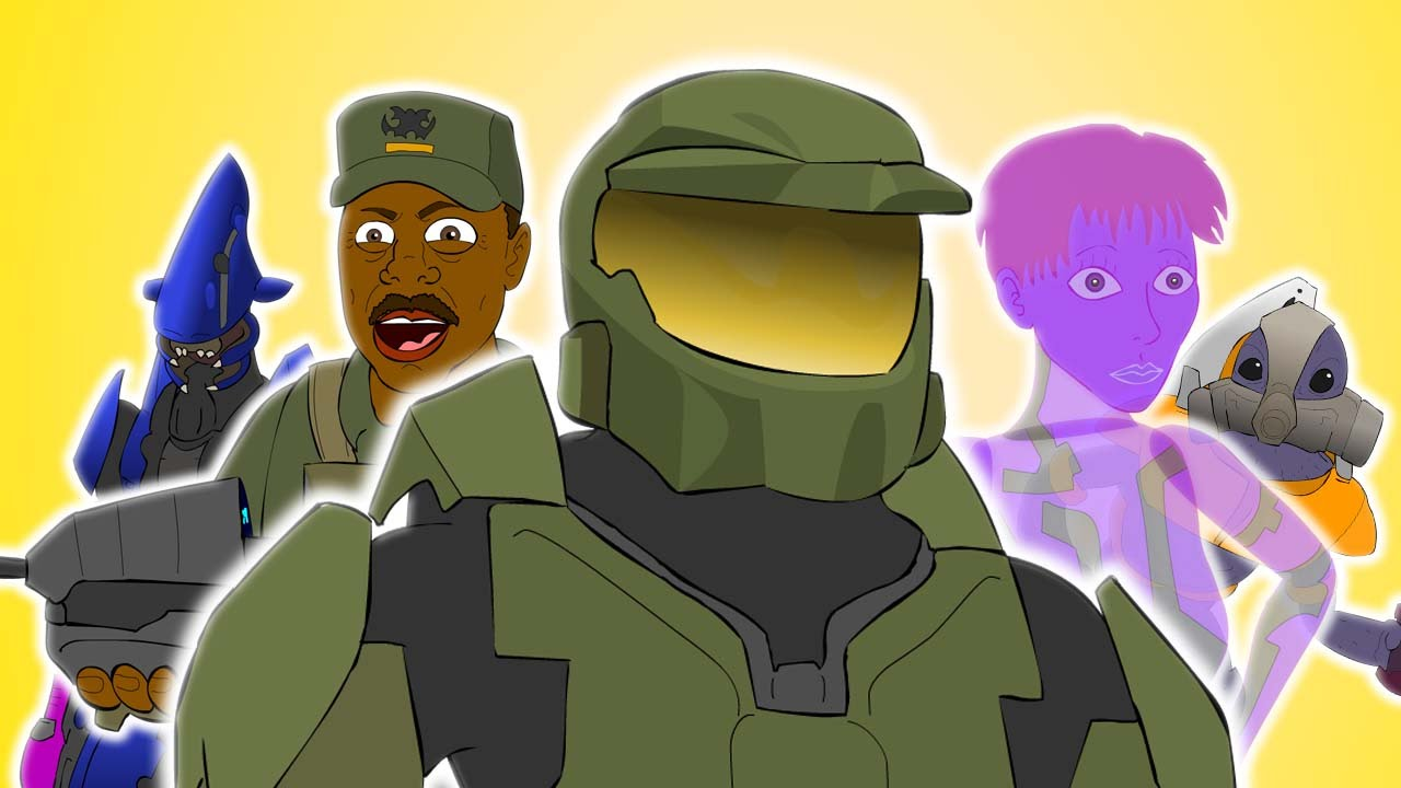Halo The Musical Parody Song Animation Youtube