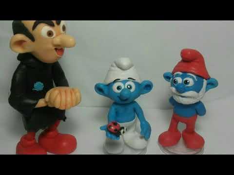 Série os Smurfs - DIY - Smurf passo a passo #3