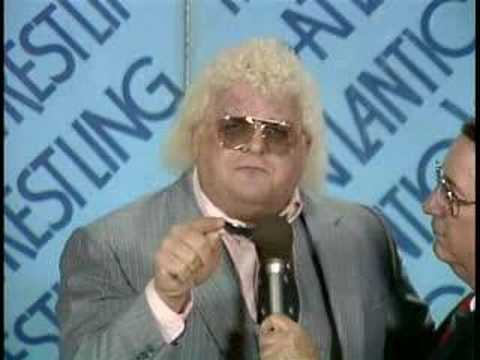 "This day 30 years ago Dusty Rhodes cut his famous ""Hard Times"" promo"