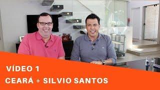 Será que o Silvio Santos chegou? Vamos rir com o humorista Ceará? Quando ele vem para SP? Vídeo 1