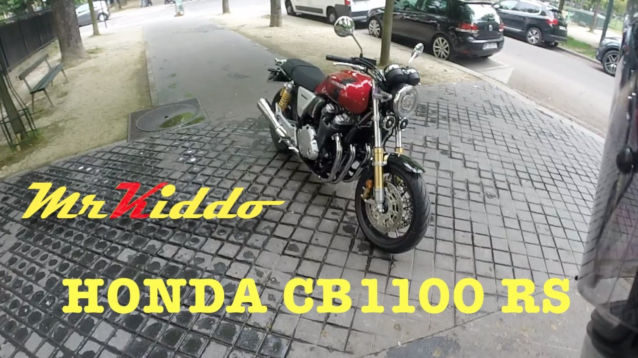 Test Riding The Honda Cb1100 Rs Youtube