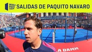 Las impresionantes seis salidas de Paquito Navarro en la final de Valladolid | World Padel Tour