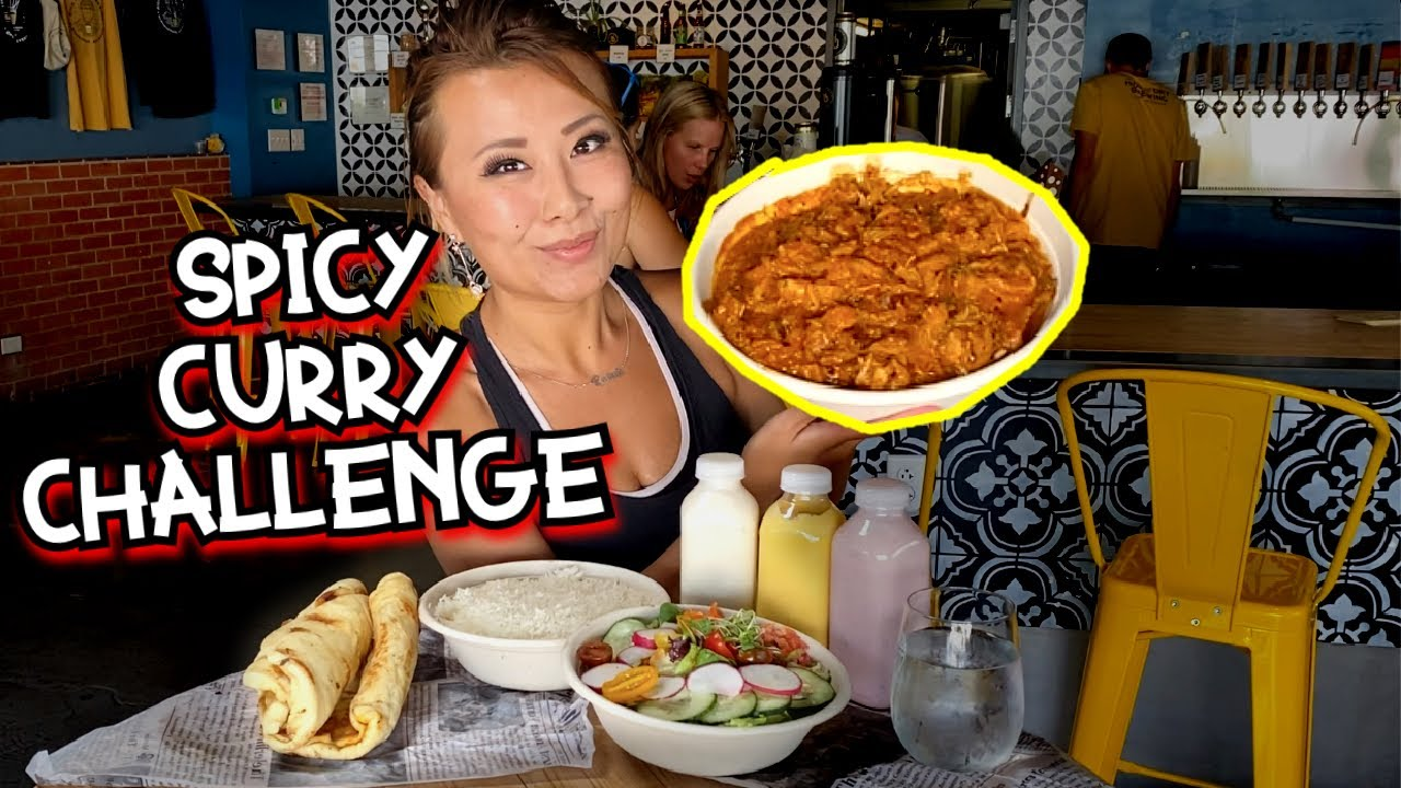SPICY GHOST PEPPER CURRY FAMILY PACK CHALLENGE!!! at Tikka Spice in Albuquerque, NM!! #RainaisCrazy