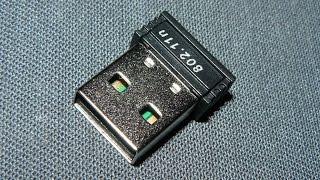 Внешний беспроводной сетевой мини USB WiFi адаптер 150 Мбит 802.11n: обзор и тест - купить в Китае