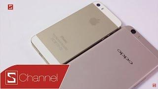 Schannel - Có 6 triệu, nên mua iPhone 5s chính hãng hay mua OPPO F1s đây?