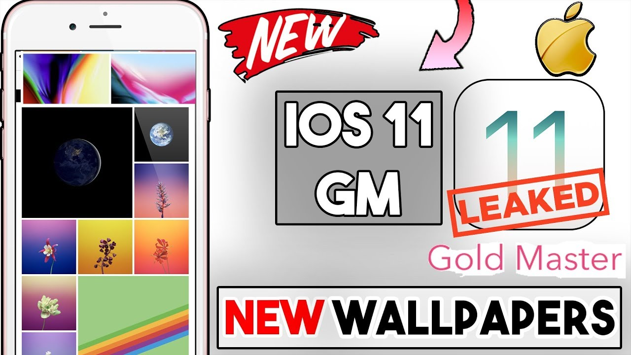 Grab The Ios 11 Default Wallpaper: IOS 11 GM Version Leaked! Before Actual Release ( NEW