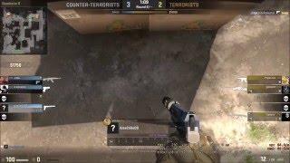 CS:GO - v3 ninja defuse. I did clear site MAN, he jumped through windows!