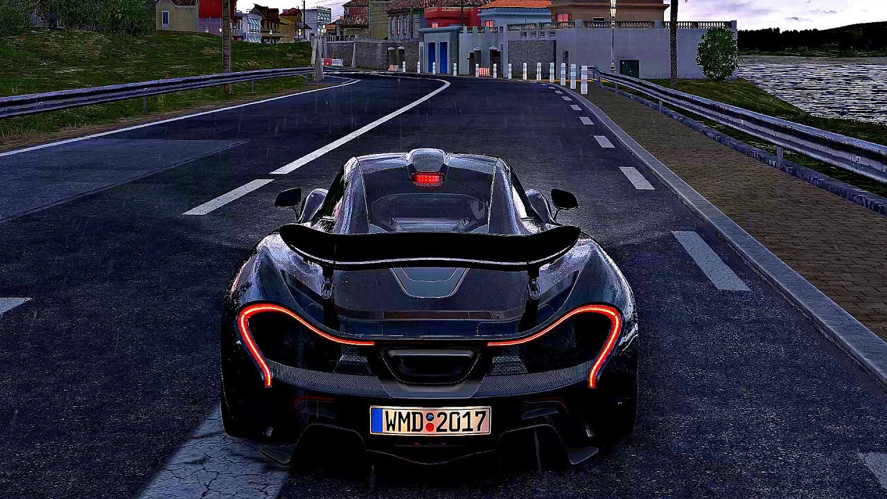 Project cars 2 gameplay mclaren p1 azure coast 4k - Project cars mclaren p1 ...