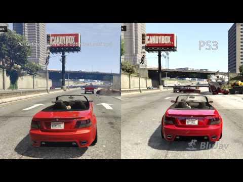 Grand Theft Auto V - PC (GTX 660 Ti) vs. PS3 Comparison