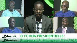 Dine ak Diamono (09 août 2018) - ELECTION PRÉSIDENTIELLE :  Reniement Et Ralliement Pour 2019