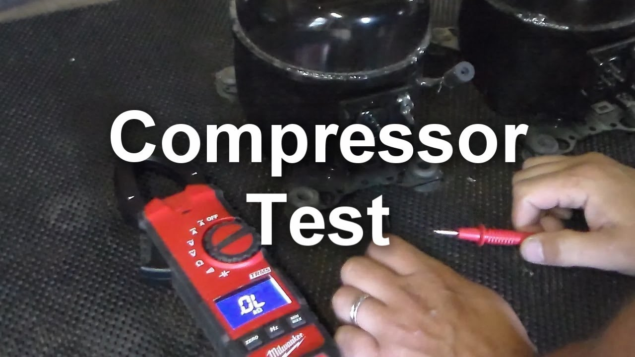 Refrigerator Compressor How It Works how to test the compressor on your refrigerator - youtube