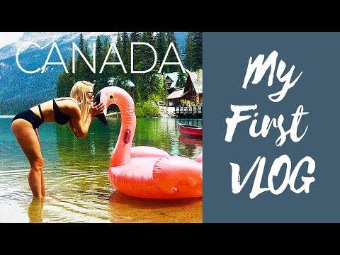 BIKINI ADVENTURES! | Emerald Lake | Banff | Canmore, CANADA