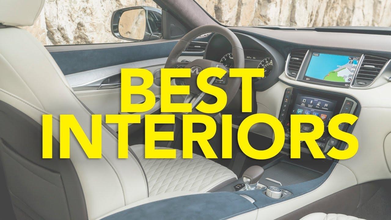 Top 10 Best Car Interiors 2018 Youtube