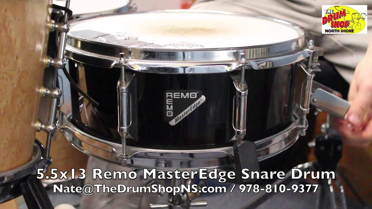 remo masteredge snare drum the drum shop north shore youtube. Black Bedroom Furniture Sets. Home Design Ideas