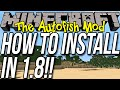 How To Install The Autofish Mod In Minecraft 1.8