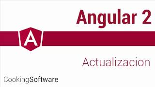 angular 2 01b actualizando angular cli