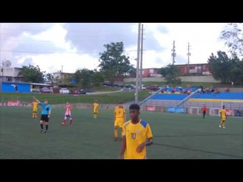 Puerto Rico U15 vs US Virgin Islands U15 - Full Match