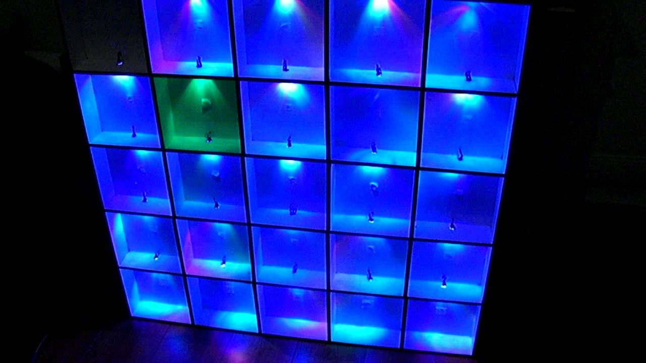 rgb led wall arduino