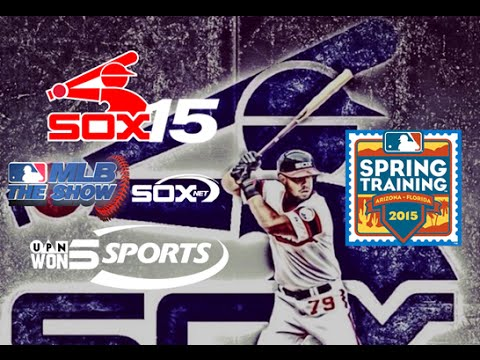 White Sox 15'-Spring Training 2015 (MLB The Show Gameplay/Commentary)-White Sox NY Vs. Reds