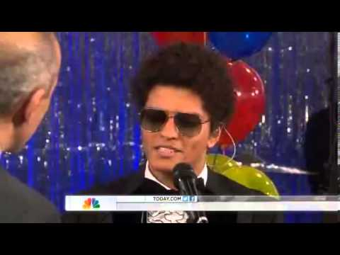 Bruno Mars - If I Knew [HD] - Today Show NBC @BrunoMars #UnorthodoxJukebox