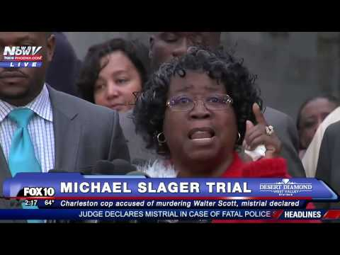 WATCH: Walter Scott's Family PASSIONATELY Reacts After Mistrial in Michael Slager Murder Trial FNN