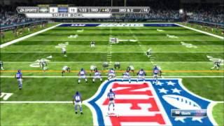 Madden NFL 12 Jets vs Giants in Super Bowl XLVI